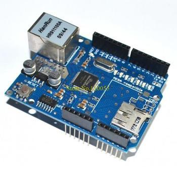 10pcs/lot UNO Shield Ethernet Shield W5100 R3 UNO Mega 2560 1280 328 UNR R3 < only W5100 Development board FOR arduino