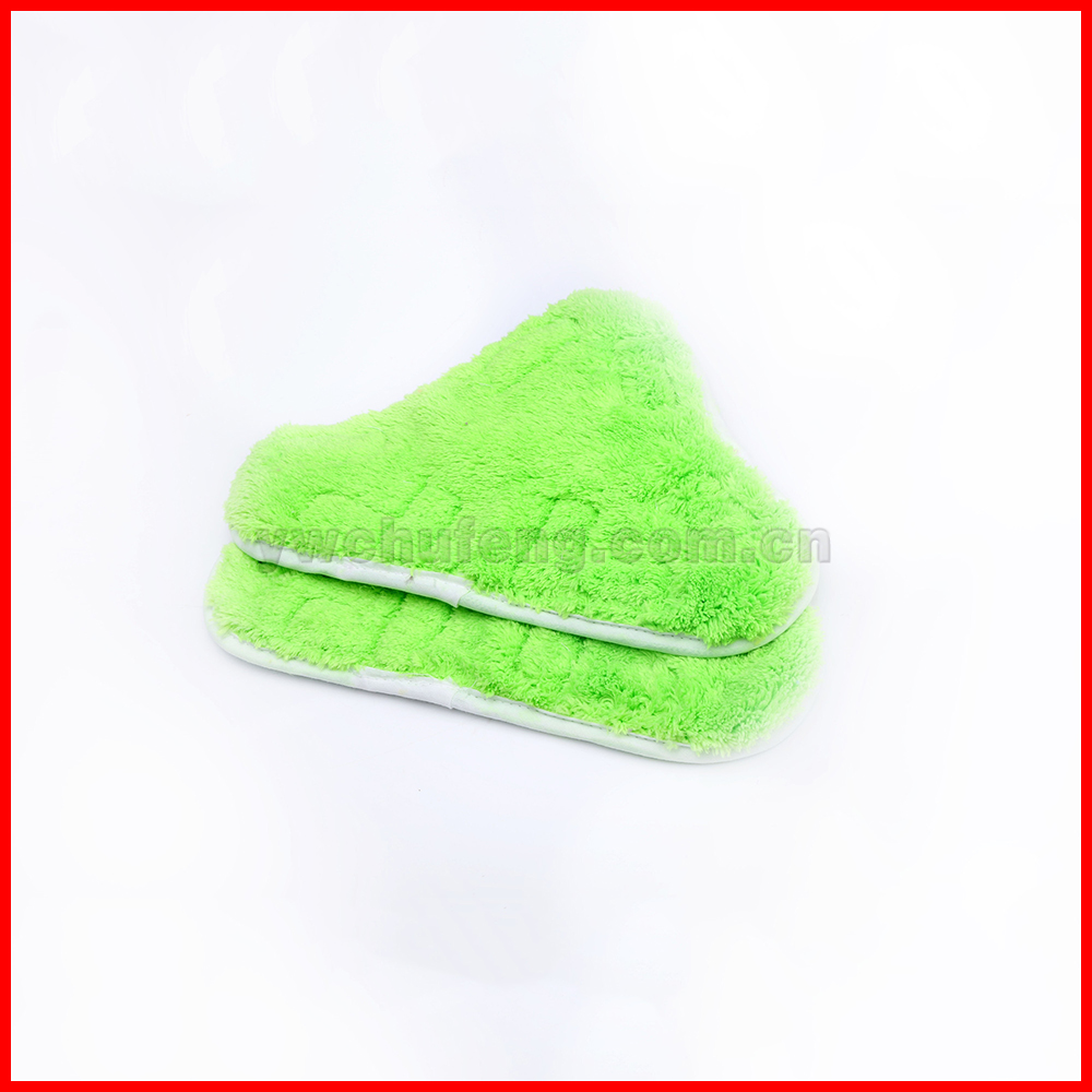 Free Shipping H2O X5 Model Steam Mop Pads Cloth For Steam Mop Clean Washable Microfiber WASHABLE VELCRO FITTING Mop Cloth(China (Mainland))