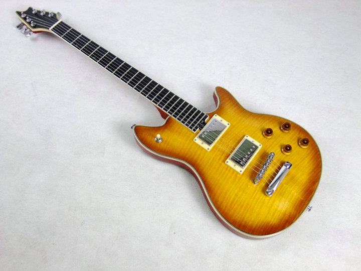 EVH wolfgang electric guitar standard size good quality AAA grade flamed maple top(China (Mainland))