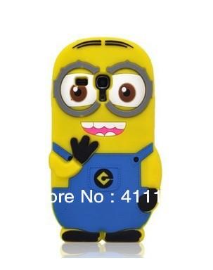 3D Despicable 2 Minions Soft Silicone Back Cover Case Samsung Galaxy S III S3 mini i8190 - ALEX ZHOU Store store