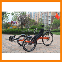 M010 folding recumbent trike two front wheels for sale(China (Mainland))
