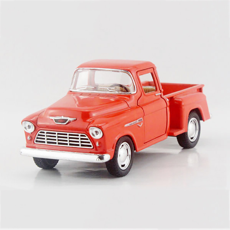 Kinsmart 1955 3100 Orange Pickup trucks 1/32 alloy models model car Pickup pull back car children's toys car Kids toy(China (Mainland))
