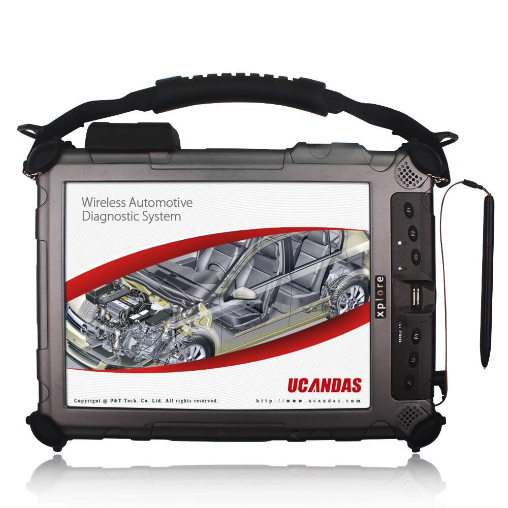 WIFI UCANDAS VDM V3.84 Full System Professional Car Diagnostic Tablet Xplore IX104 With I7 4GB 128GB Computer(China (Mainland))