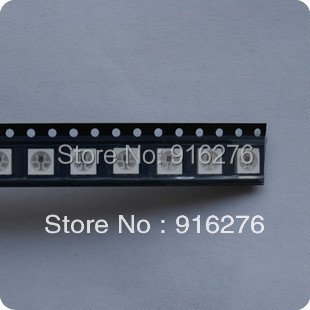 WS2811 chip Built-in ws2812 RGB 5050 SMD Addressable Dream Full Color LED beads strip bulb light,Superbright,WS2812(China (Mainland))