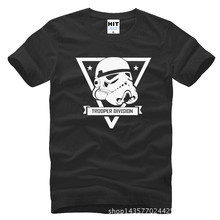 Star wars trooper division Printed Mens Men T Shirt Tshirt Fashion 2015 Short Sleeve O Neck Cotton T-shirt Tee Camisetas Hombre