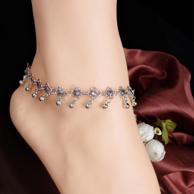 Silver Color Anklet