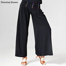 2016 Moderne De Danse Costume Pantalon Robe Flamenca Robe Frange De Pratique De Danse de Pantalon De Danse Latine Jazz Valse Tango
