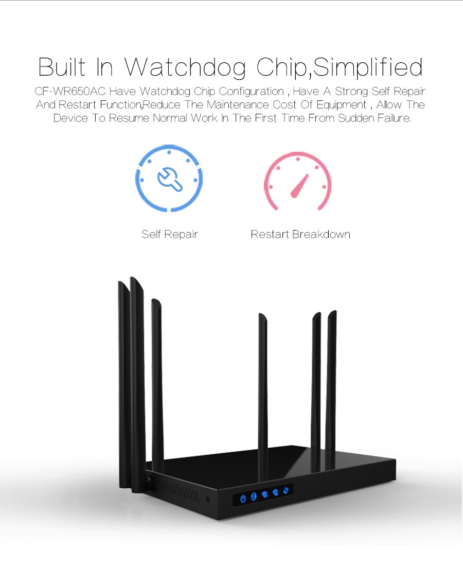Router 2.4G/5G Dual USB 10