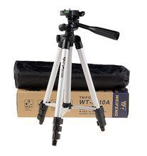 Weifeng WT3110A Tripod Aluminum With 3-Way Universal Digital Camera Tripod for Canon Nikon Sony Pentax DSLR WT-3110A