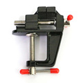 Hot Selling Mini Table Vise Aluminum Alloy Bench Vice Swivel Lock Clamp Craft Hobby Cast wood