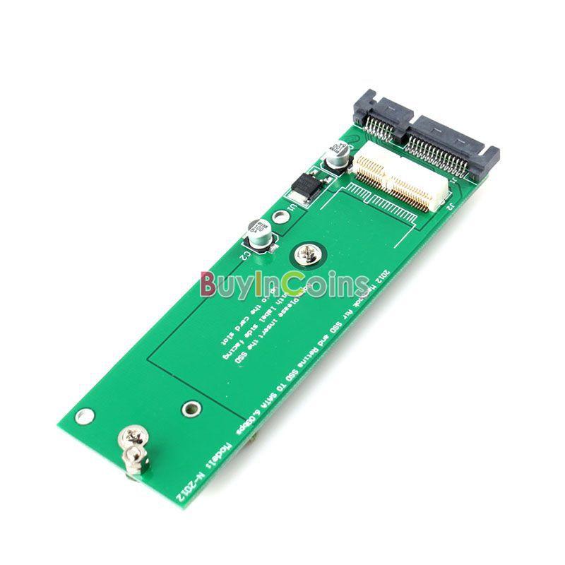 7 + 17 pins SSD Card Hard Disk to SATA Adapter for Apple Macbook Air CFEG #64043(China (Mainland))