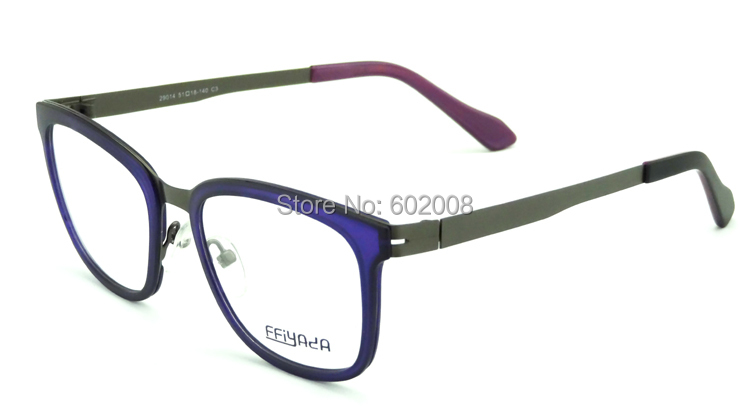 Fashion metal optical frame eyeglasses manufacturers design optical frame in big stock whole support 29014(China (Mainland))