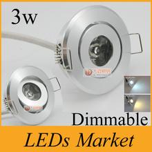 hot sale mini 3w led exhibition light lamp dimmable led ceiling downlight 110-240v led spot light indoor led lighting + driver(China (Mainland))