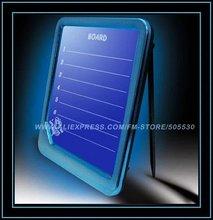 Fluorescence message board,led flashing WordPad, led writing display board 50pieces/lot wholesale(China (Mainland))