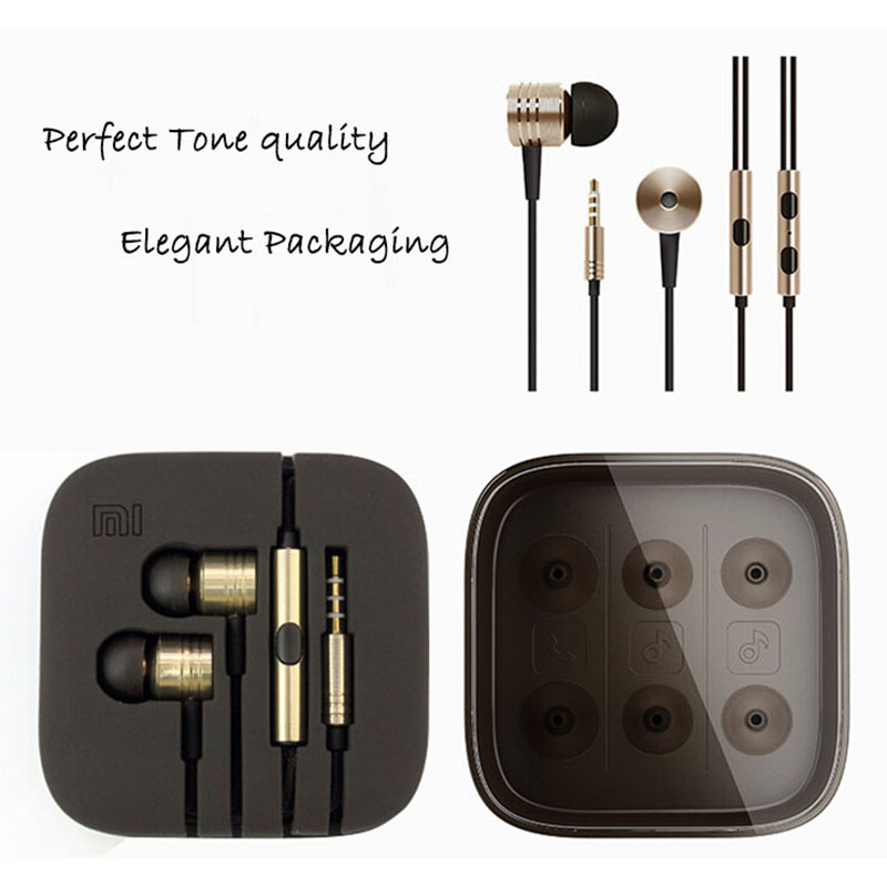 mega bass updated version 3.5mm Earphones XIAOMI Earphone Ears Cup Handsfree XiaoMI Samsung iPhone HTC Sony - Corcossi Science & Technology CO., LTD store