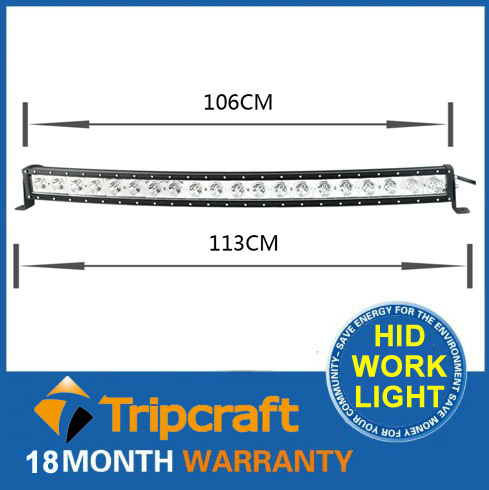 5PCS Wholesale 40'' 200W LED DRIVING LIGHT BAR Offroad curved work Lamp Truck Boat Mining 4WD SUV , led bar offroad(China (Mainland))