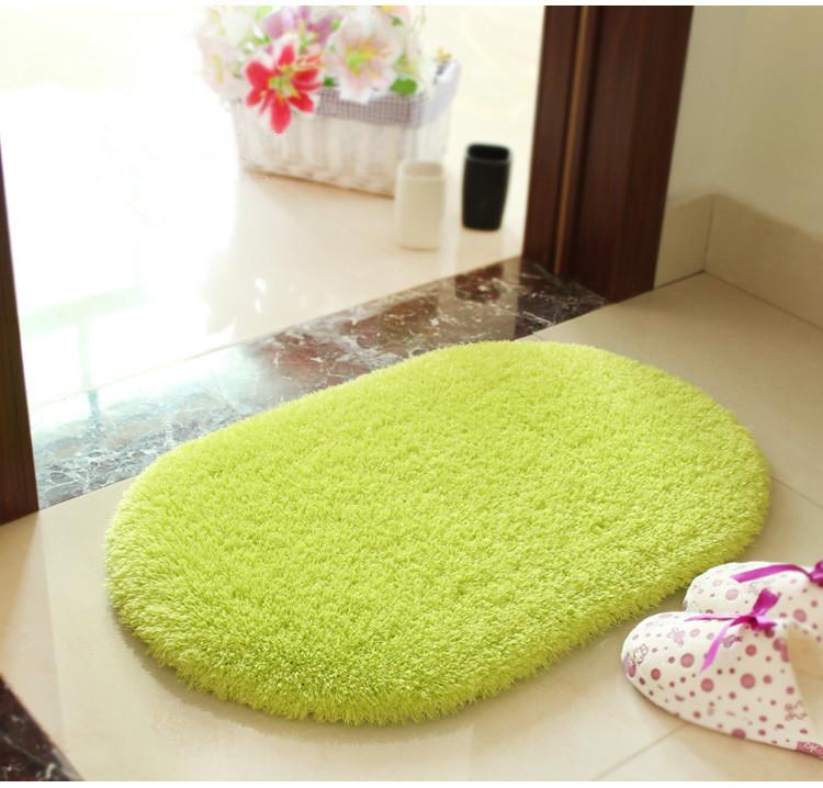 50 80 oval mats area rug for living room carpet door mat bathroom
