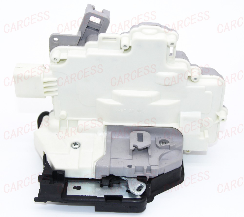 OE 3C4 839 015A REAR LEFT CENTRAL DOOR LOCK LATCH ACTUATOR MECHANISM FIT FOR VW PASSAT B6 SKODA SUPERB A4 A5 Q5 Q7 TT 8 PINS(China (Mainland))
