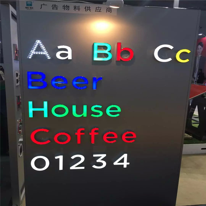 Factory Outlet Custom Outdoor advertising Acrylic led signage channel letters(China (Mainland))