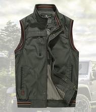 Men's cotton outdoor sports vests coats man casual brand reporter shoot camp jacket active coat (China (Mainland))