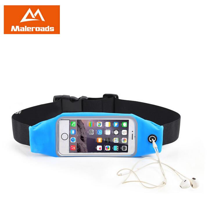 "4.7"" 5.5"" Sport Waist Bag Waterproof Running Fitness Running Belt Pouch Case Mobile Phone Holder for iPhone 5/5S/6/6plus Samsung(China (Mainland))"