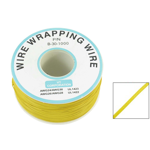 WSFS Wholesale PCB Solder Flexible 0.25mm Core Dia 30AWG Wire Wrapping Wrap 820Ft<br><br>Aliexpress