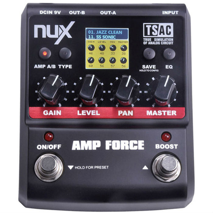 Aliexpress.com : Buy NUX AMP Force Guitar Effect Pedal Stomp Boxes ...