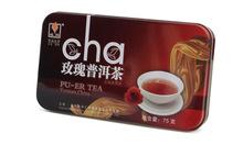 Hot Sale Black Tea Flavor Pu er rose Puerh Tea Chinese Mini Yunnan Puer Tea Gift