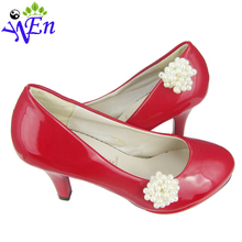 Fire sale Pearl shoe clips charm decoration clips for shoes clip accessories N527(China (Mainland))