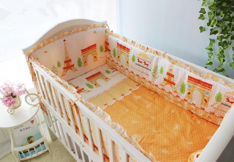 Продвижение! 6 шт. детские постельных принадлежностей 100% хлопок удобная