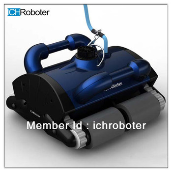 Automatic swimming pool cleaner with romote controller