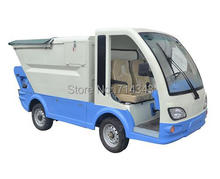 Mini Four-wheel bucket car Garbage truck Garbage Collector Truck rubbish collector dust cart ash car(China (Mainland))