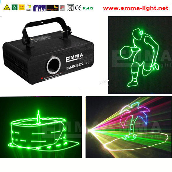 500mw rgb programmable cheap laser lights / Dmx Rgb Stage Laser Lighting(China (Mainland))