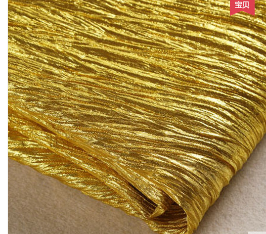 Event & Party Supplies Knit cloth Festival grasp knit cloth folds outdoor &wall decorative cloth of gold stage package column(China (Mainland))