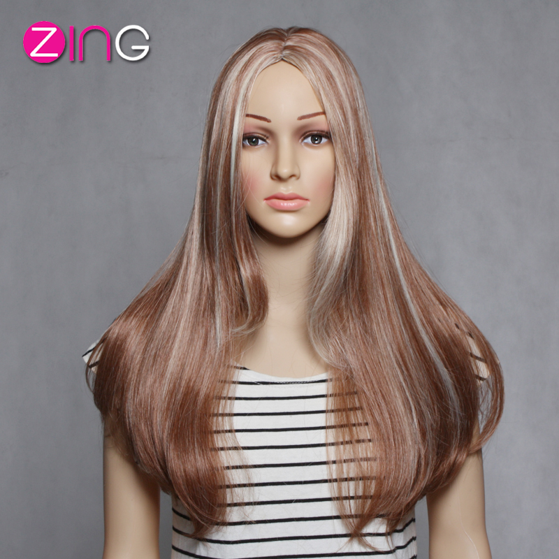 Womens Wigs Synthetic Hair Cosplay Wig Long Wig Good Quality Wigs Synthetic Hair Perruque Synthetic Women Pelucas Pelo Natural<br><br>Aliexpress