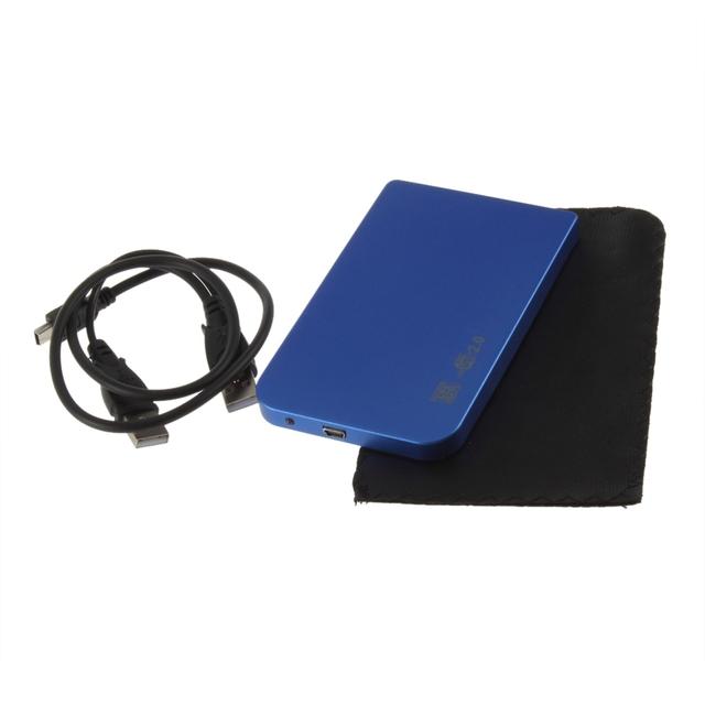 Free shipping External Hard Drive Disk HDD Enclosure Case