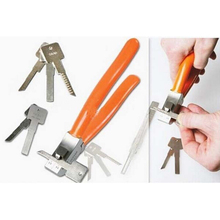2015 a estrenar Original Lishi clave cortador Car Locksmith cortador dominante dominante Auto herramientas de cerrajería envío gratis CP249