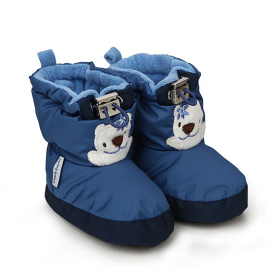 Baby Boy Shoes First Walkers Boys Soft Bottom Baby's Bootees Soft Non-slip Footwear Baby Boots Infant Warm Winter 70A1042(China (Mainland))