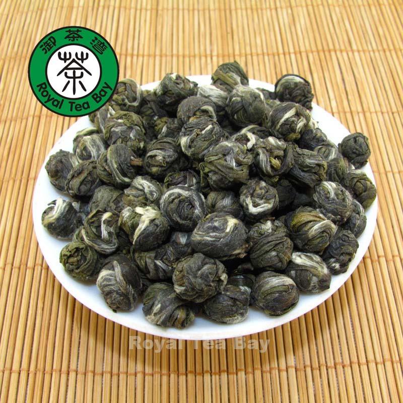 Dragon Jasmine Pearl Green Tea with Jasmine Flower Ball Green Tea 100g 3 5oz T010