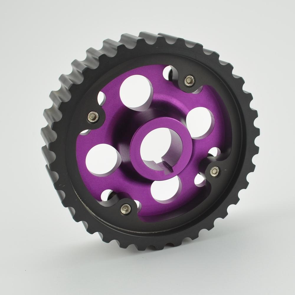 Cam Gear B16a HK5 Racing Car Adjustable Purple Engine Motor Cam Gear Camshaft Aluminum For Honda
