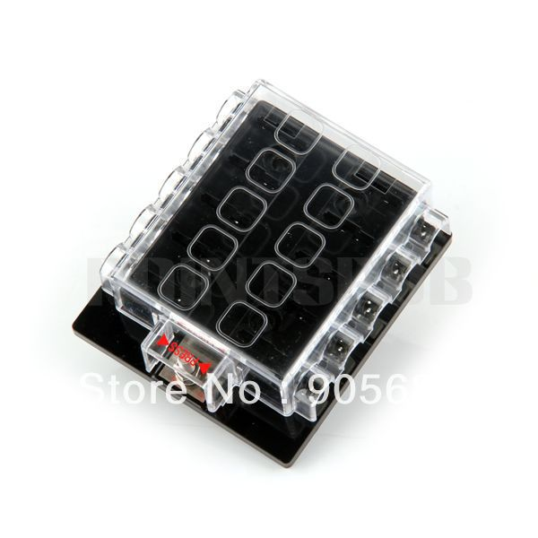 free shipping 10 way circuit car automotive atc ato blade motorcycle fuse box clicking diy fuse box motorcycle