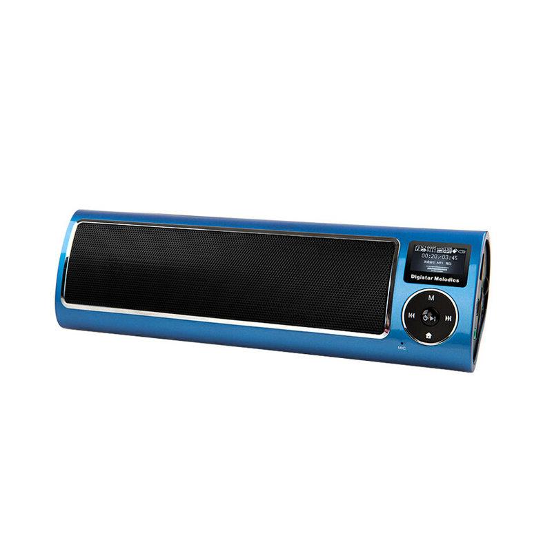 LV520 New UV coating Portable multimedia mini speaker outdoor stereo alarm clock Speaker Home Theater Party Speaker Sound System(China (Mainland))