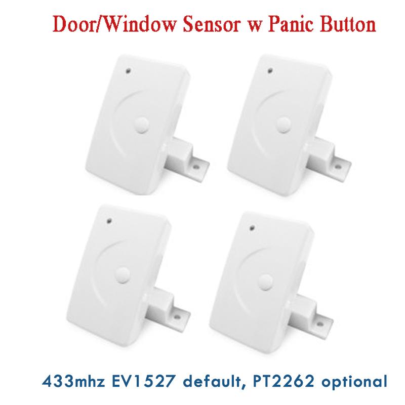 433MHz Wireless Door Contact Door Window Detector Sensor for GSM PSTN Alarm Security System<br><br>Aliexpress