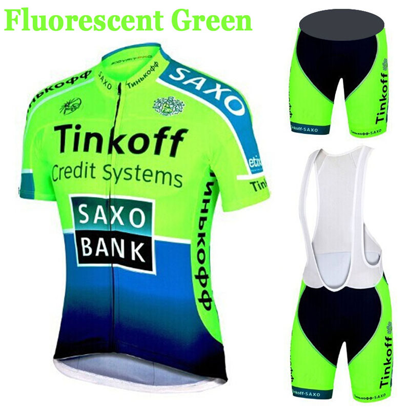 2015 Fluorescence Breathable Team Cycling Jerseys/Quick-Dry Cycling Clothing GEL Pad Bike Bib Shorts/Racing MTB Bicycle Pants(China (Mainland))