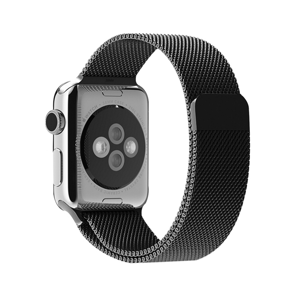 Original Milanese Loop strap &amp; Link Bracelet Stainless Steel band for apple watch 42mm 38mm Watchband<br><br>Aliexpress