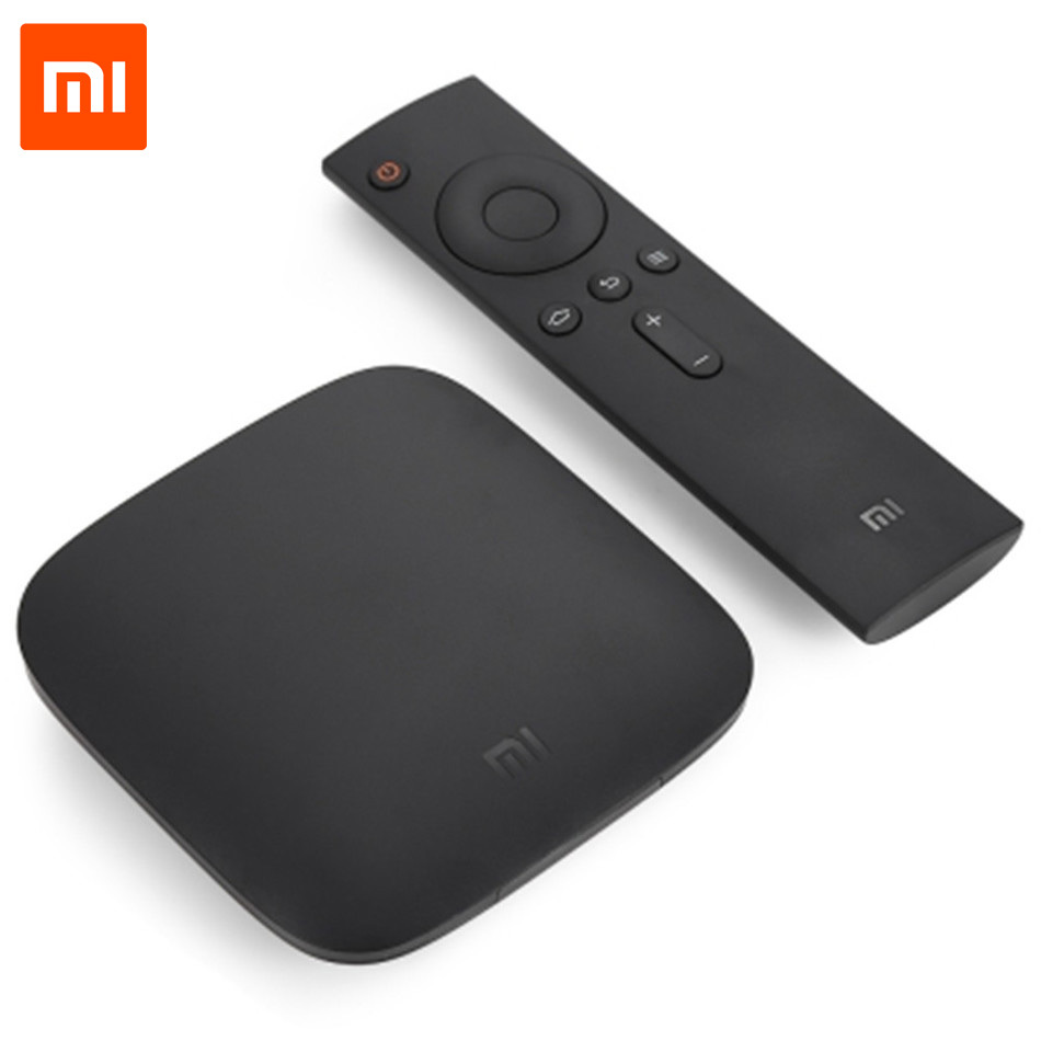 Original Xiaomi Mi 3C TV Box Android 5.0 4K Quad Core Set Top Box Wifi Bluetooth4.1 Dolby DTS Smart Media Player Chinese Version