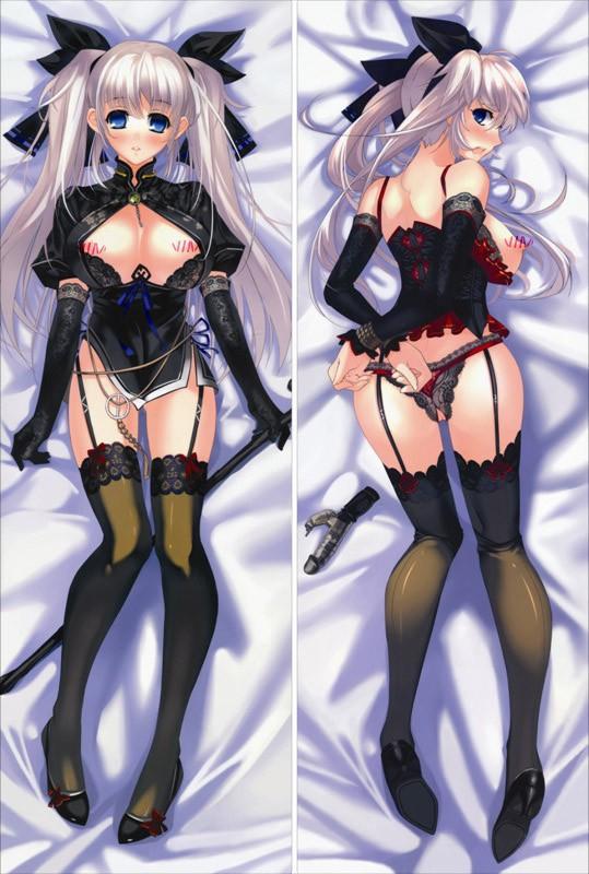 3D Print Anime Dakimakura hugging HD Japanese Pillow Case 150cm X 50cm peach skin Mabinogi Lovely Gift c - Professional Animation case store