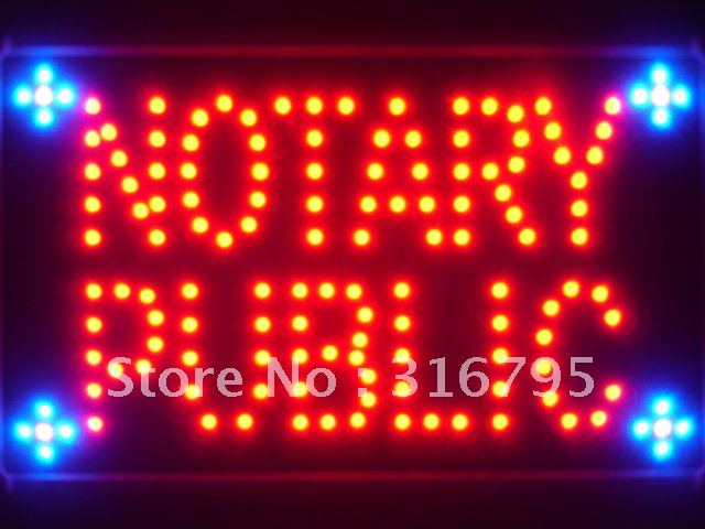 led115-r Notary Public Service Led Neon Sign WhiteBoard Wholesale Dropshipping<br><br>Aliexpress