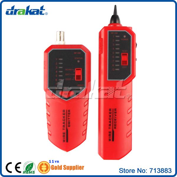 Sensitive Cable Fault Locator 8P4C 8P8C UTP/STP RJ45 BNC New product! NF-168(China (Mainland))