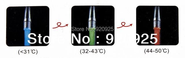 NEW Temperature Sensor 3 Color RGB Glow Shower LED Light Water Faucet Tap